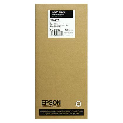 Epson T642100 Original Photo Black Ink Cartridge