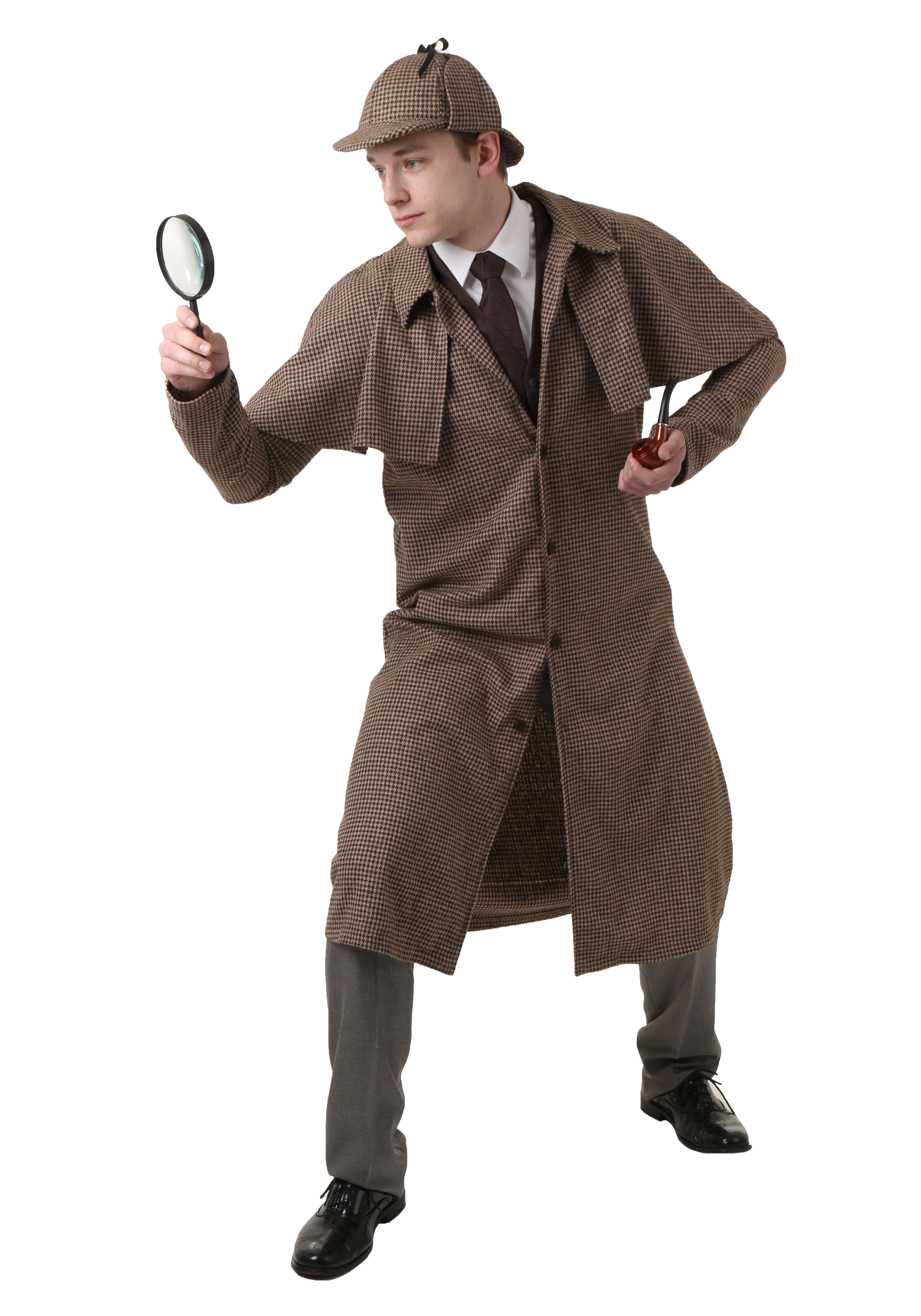 Men's Sherlock Holmes Costume