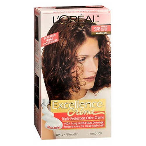 LOreal Excellence Creme Medium Reddish Brown Warmer 1 each by L'oreal