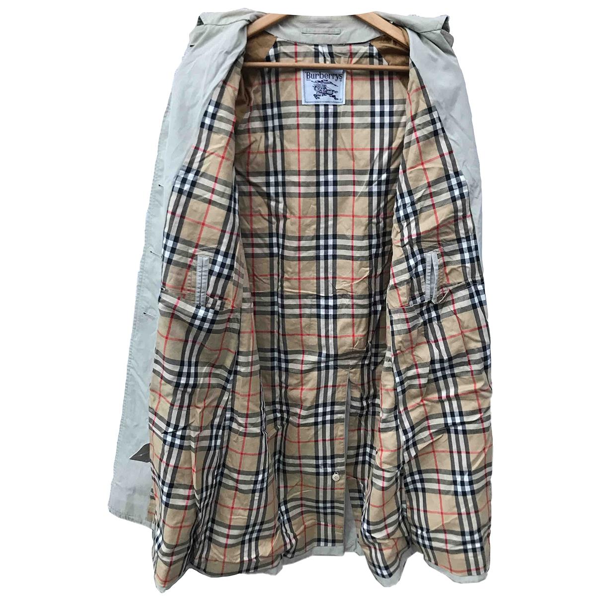 Burberry \N Cotton coat for Women M International