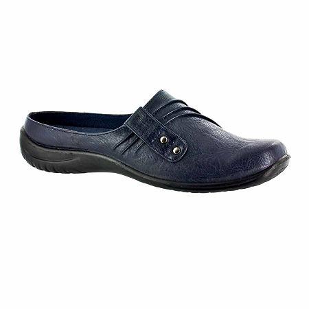 Easy Street Womens Holly Slip-On Shoe, 8 1/2 Narrow, Blue