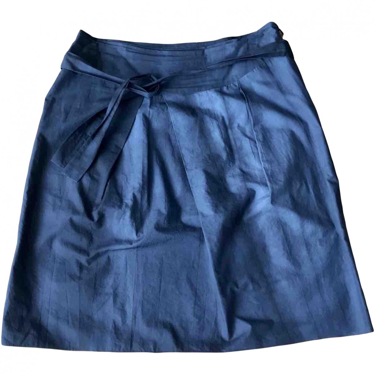 Marni \N Navy Cotton skirt for Women 44 IT