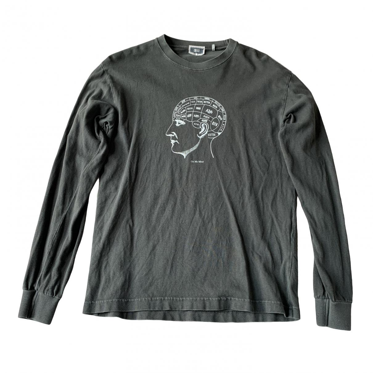 Kith \N Grey Cotton  top for Women XS International