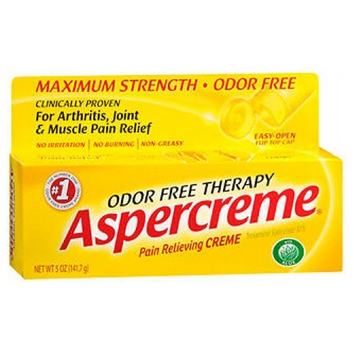 Aspercreme Odor Free Therapy Pain Relieving Creme With Aloe 5 oz by Aspercreme