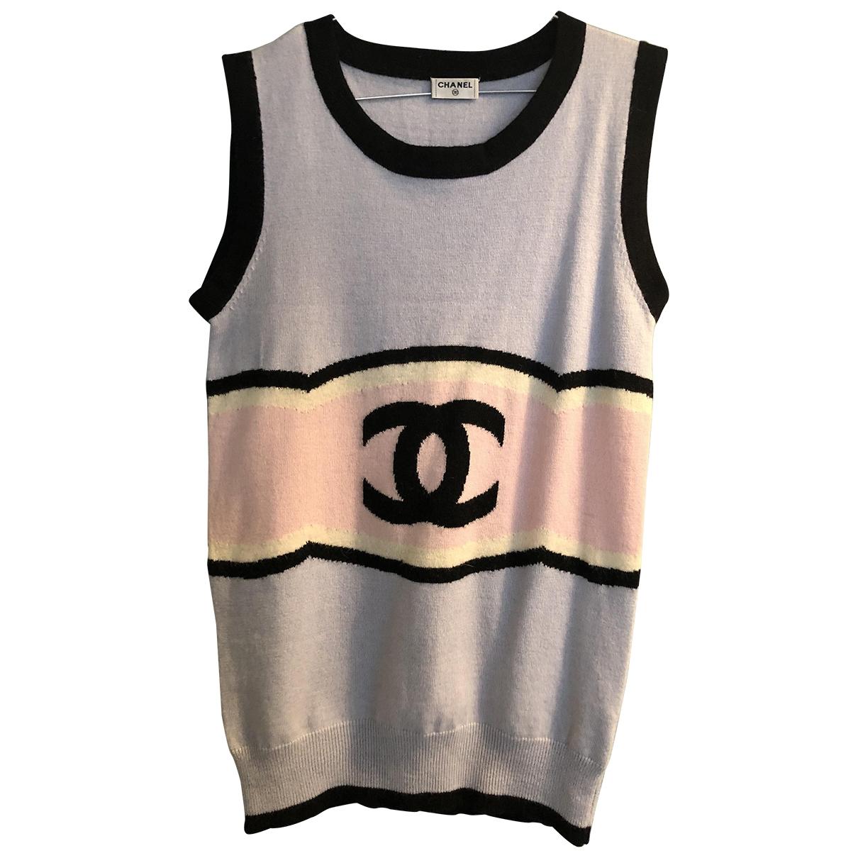 Chanel \N Blue Wool Knitwear for Women 40 FR