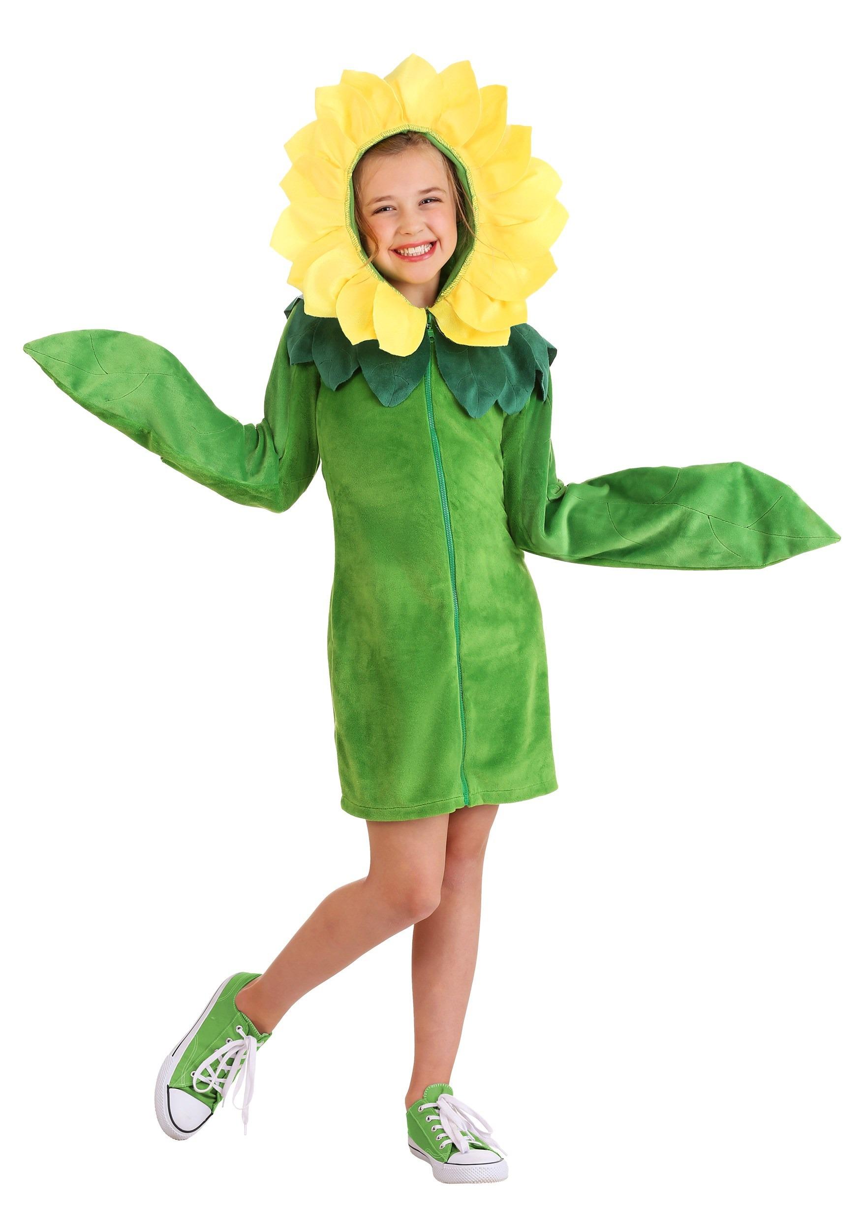 Flower Hoodie Girl's Dress