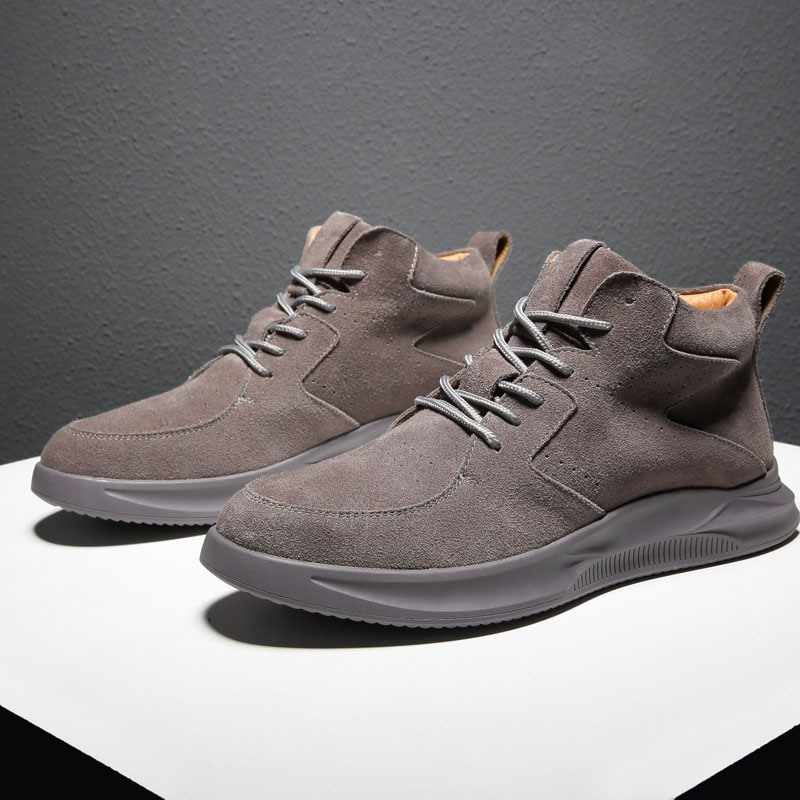 Ericdress Mid-Cut Upper Lace-Up Vintage Round Toe Men's Sneakers