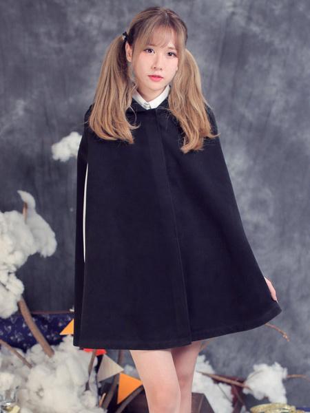 Milanoo Classic Lolita Cape Little Red Riding Hood Lolita Outwear