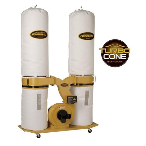 Powermatic Dust Collector, 3 HP 1PH 230 V, 30-Micron Bag Filter Kit