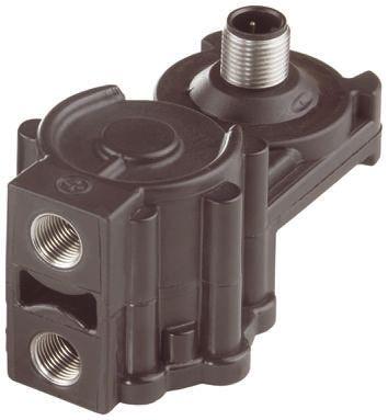Jumo Pressure Sensor for Fluid, Gas , 10bar Max Pressure Reading