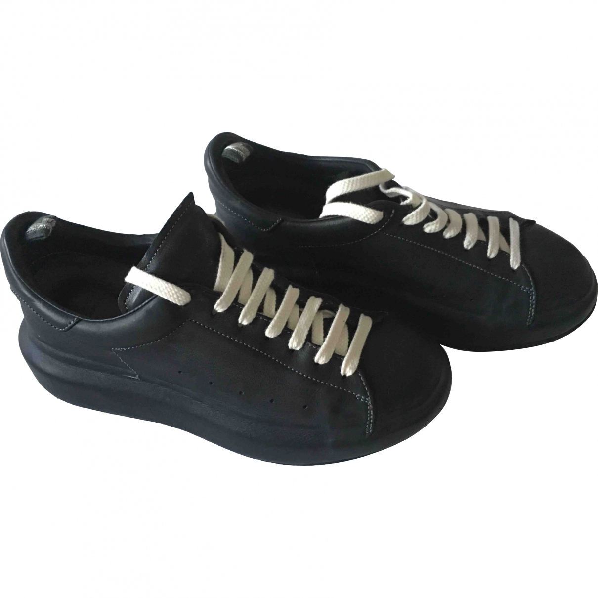 Officine Creative \N Black Leather Lace ups for Women 37 EU