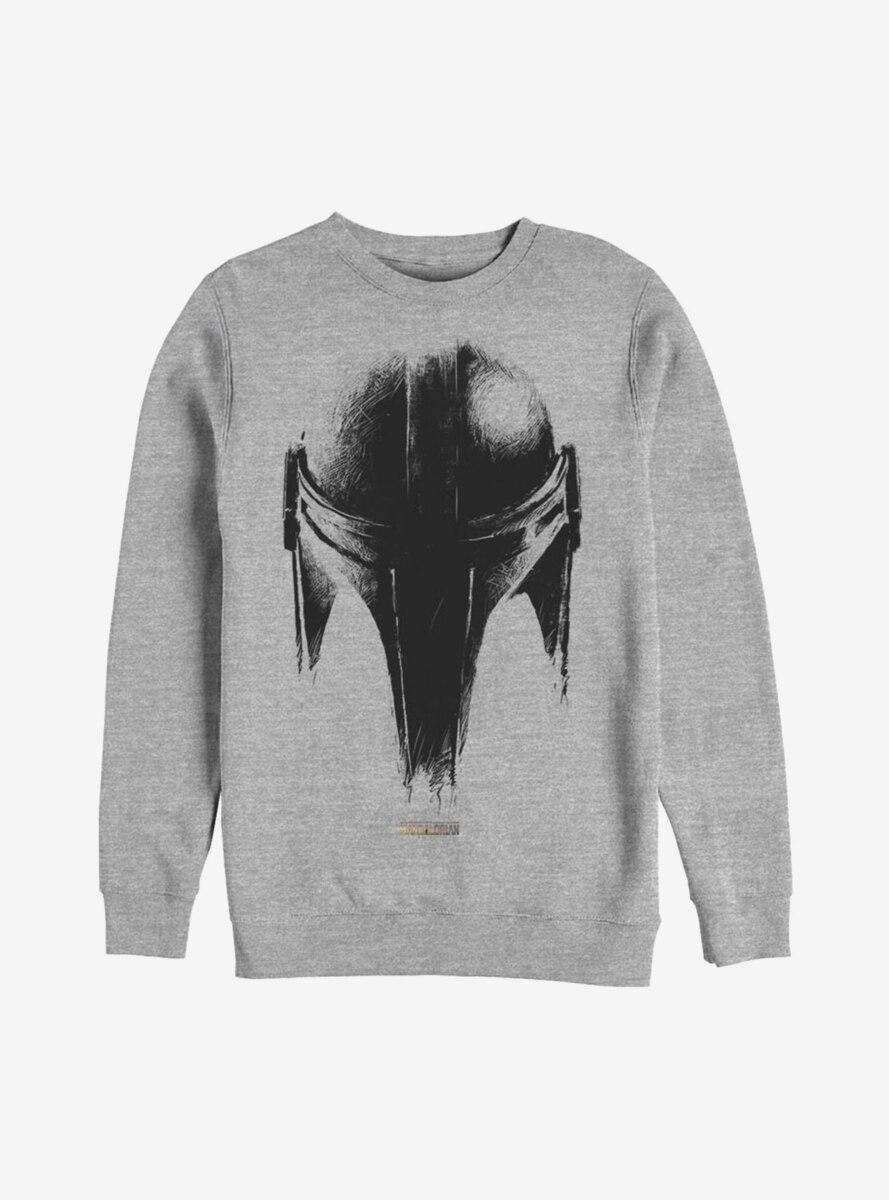 Star Wars The Mandalorian Sketch Helm Sweatshirt