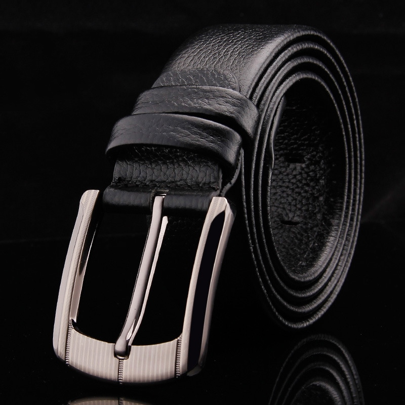 Ericdress Top Leather Pin Buckle Bussiness Men Belt