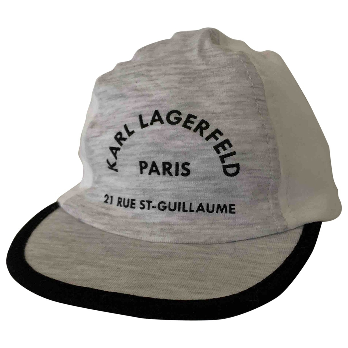 Karl Lagerfeld \N Grey Cotton hat & Gloves for Kids \N