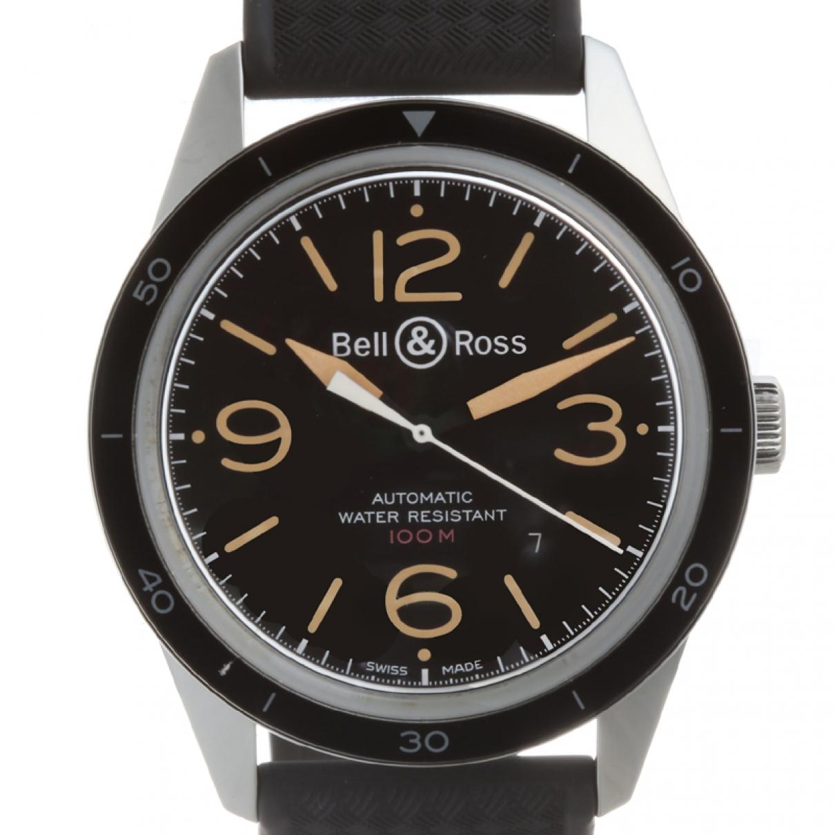 Bell & Ross BR123 Silver Steel watch for Men \N