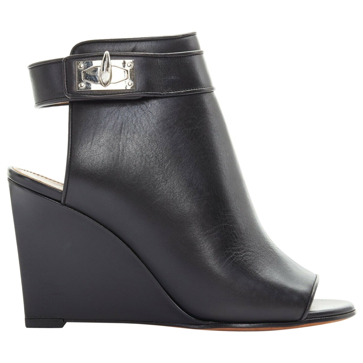 Givenchy \N Black Leather Ankle boots for Women 36 EU