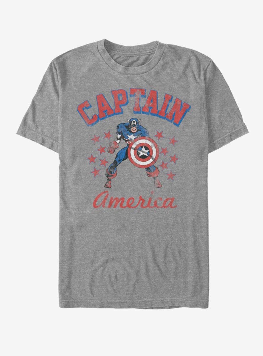 Marvel Captain America The Old Captain T-Shirt