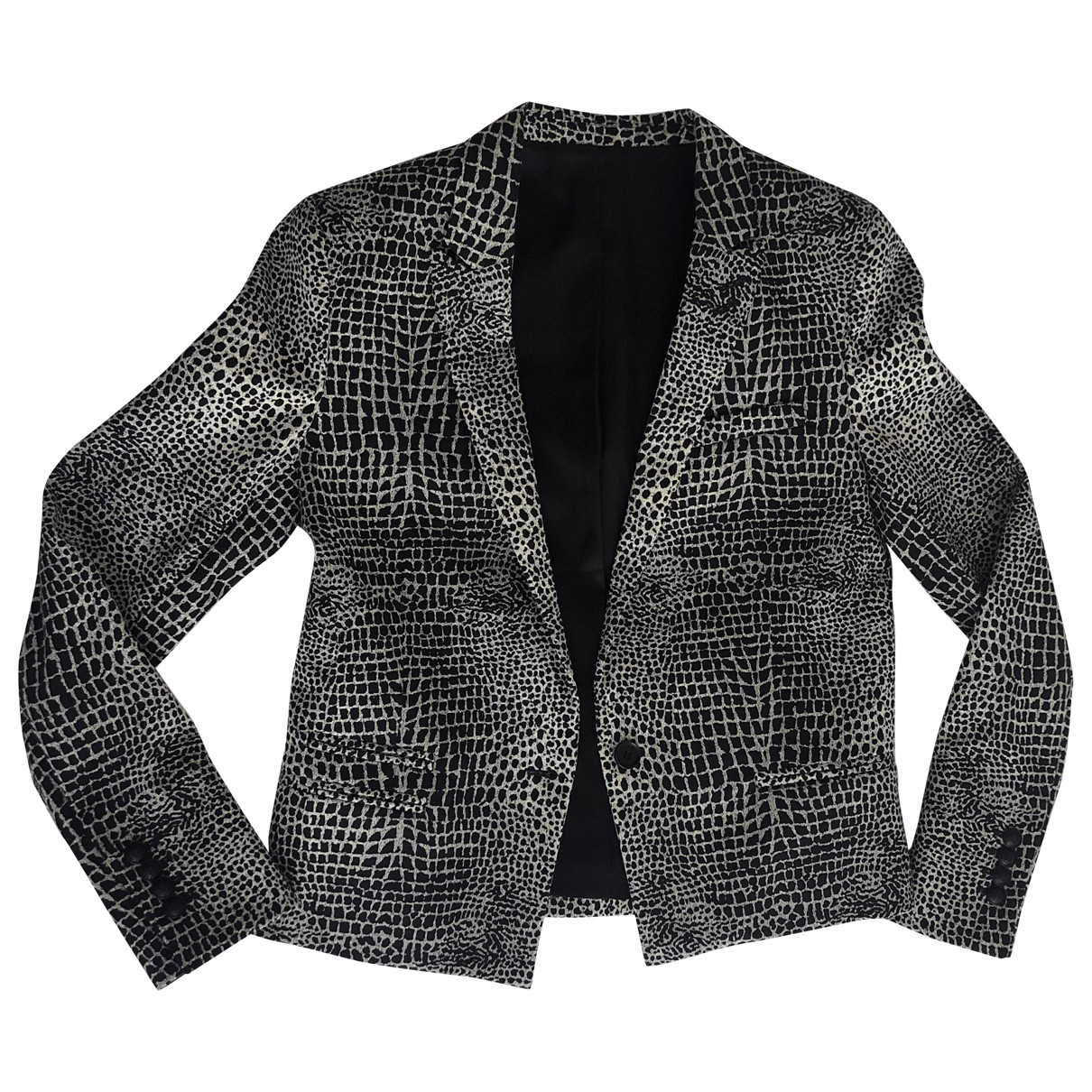 The Kooples \N Black Cotton jacket for Women 38 FR