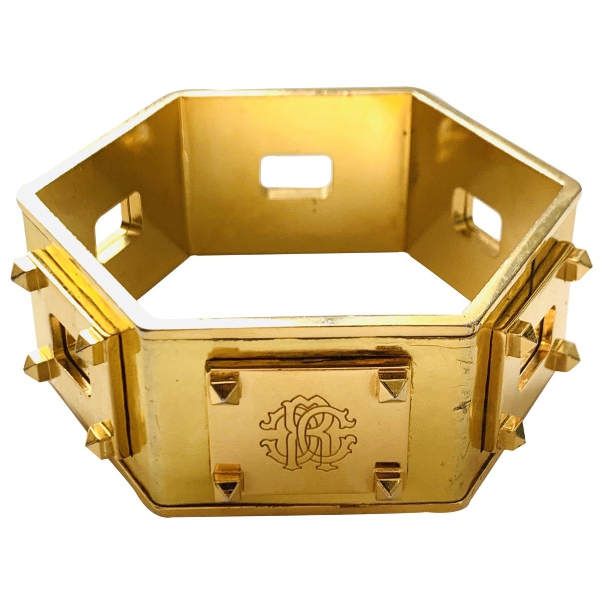 Roberto Cavalli \N Gold Metal bracelet for Women \N