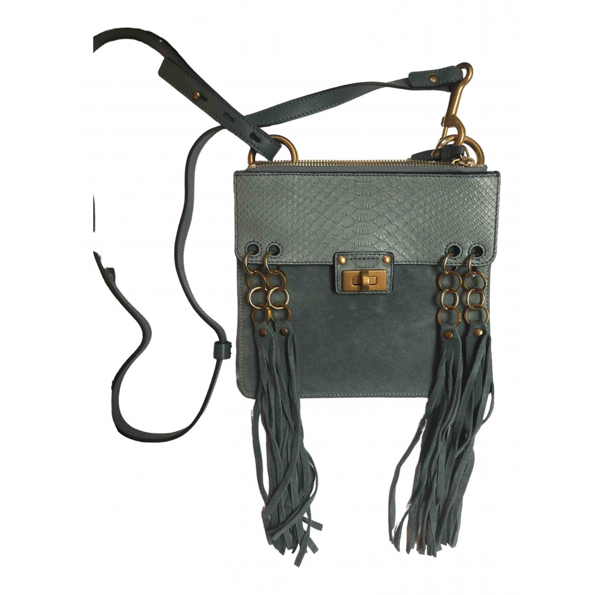 Chloé Jane Blue Suede handbag for Women \N