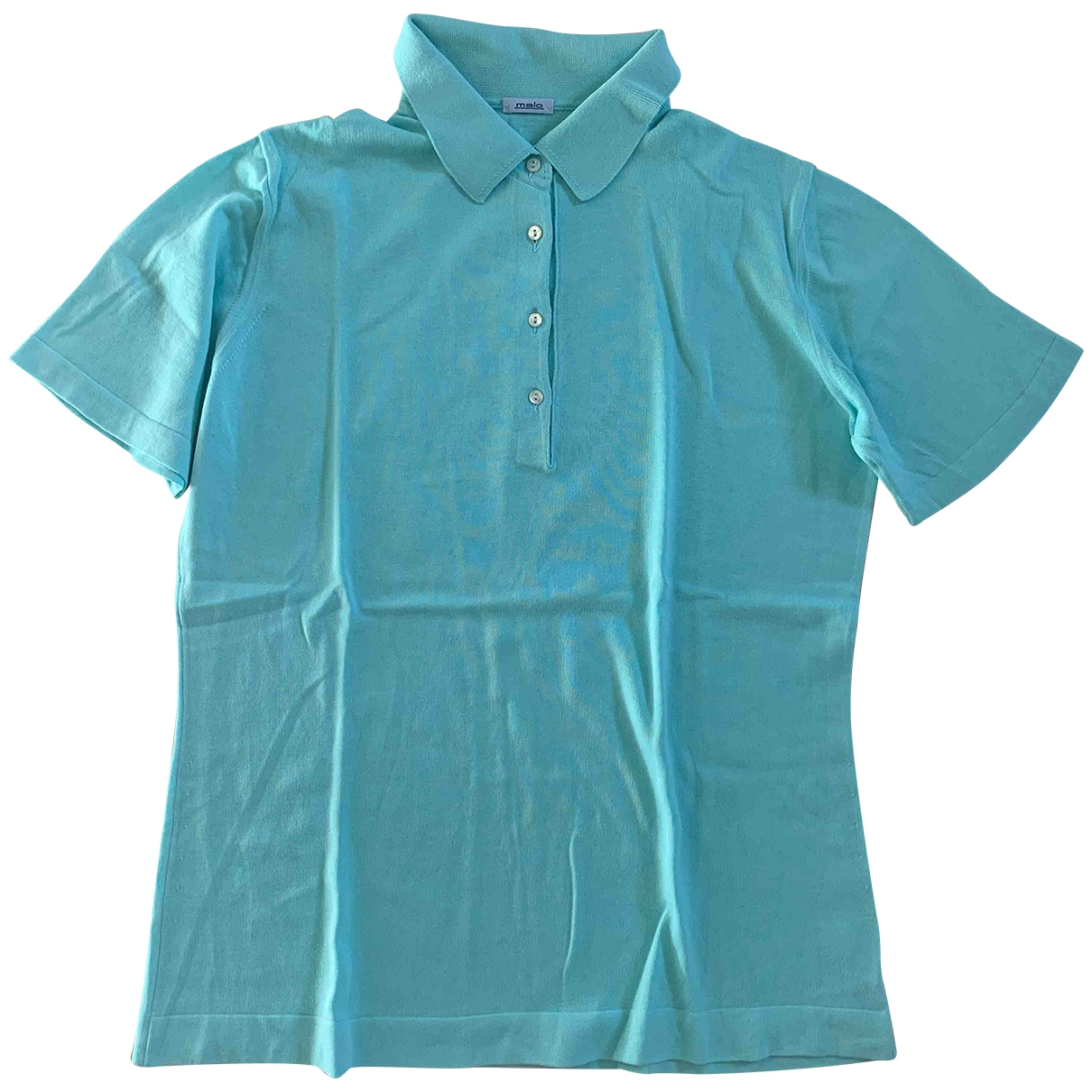 Malo \N Turquoise Cotton  top for Women 46 IT