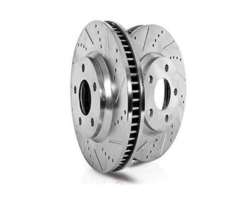 Power Stop JBR1553XPR Drilled & Slotted Brake Rotor Rear JBR1553XPR