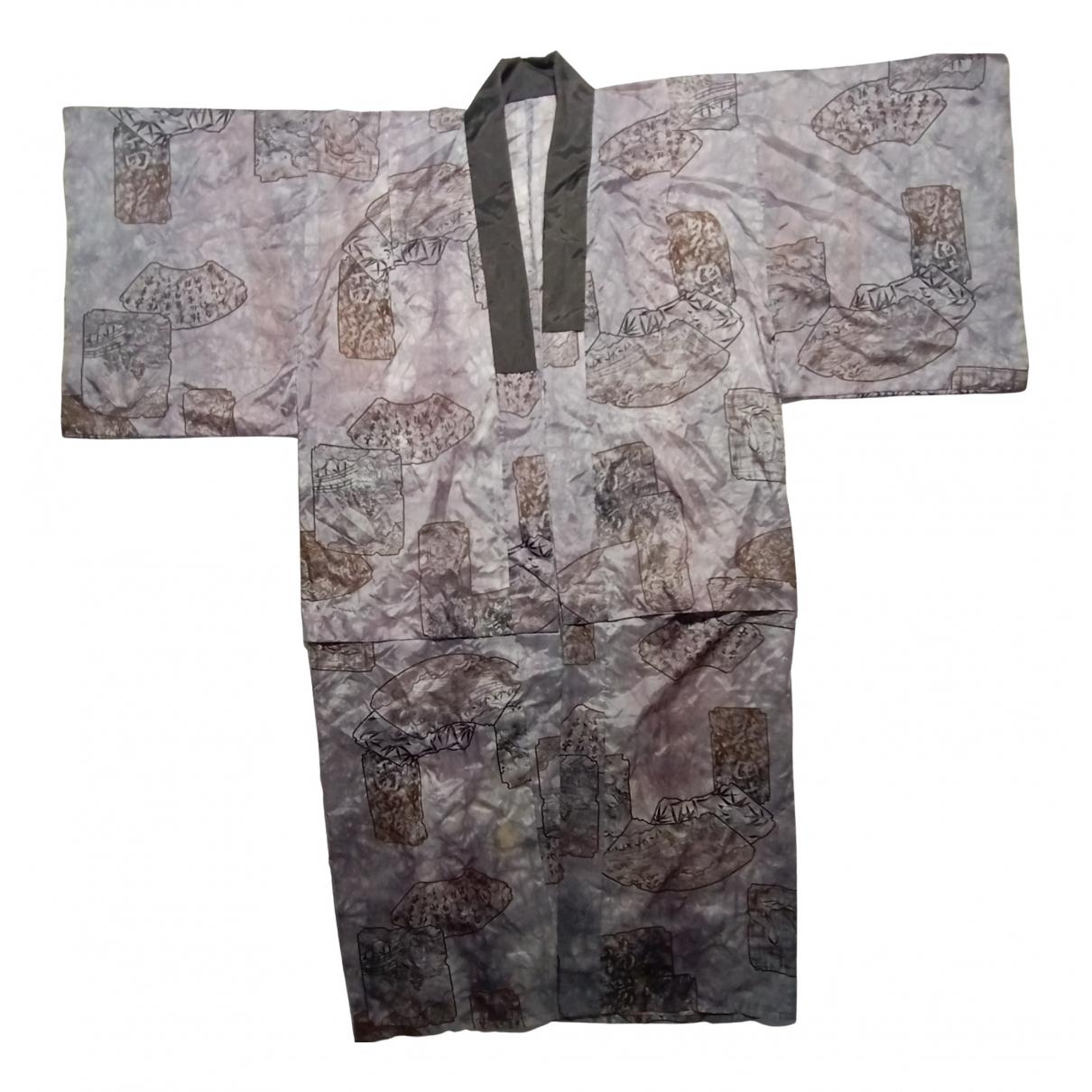 Komono \N Grey Cotton  top for Women 40 FR