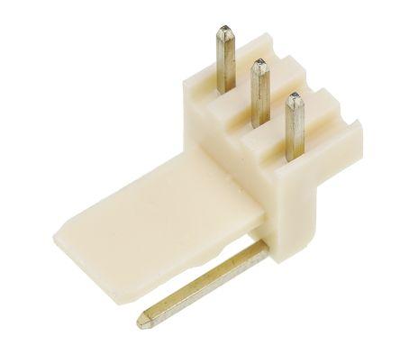 Molex , Mini-Latch, 5046, 3 Way, 1 Row, Right Angle PCB Header (5)