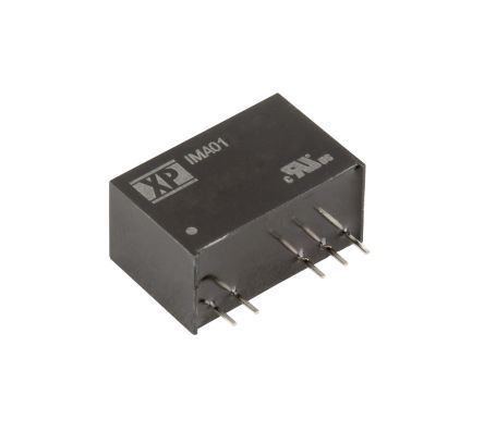 XP Power IMA01 1W Isolated DC-DC Converter Through Hole, Voltage in 21.6 → 26.4 V dc, Voltage out 5V dc Medical