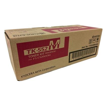 Kyocera Mita TK-552M cartouche de toner originale magenta pour l'imprimante FS-C5200DN