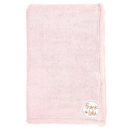 Frank And Lulu Lush Plush Plush Lightweight Throw, One Size , Pink