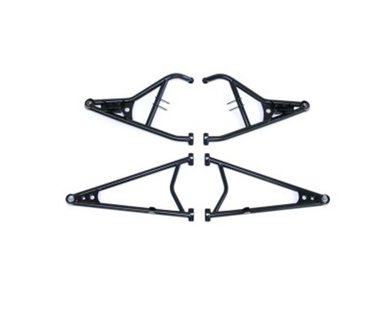 Holz Racing Products 613235-R Heavy Duty Upper & Lower Race A-Arms Kit w/ Uni-Balls Red Polaris RZR XP 1000 | RS1 14-16