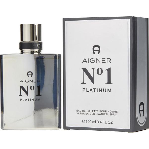 Etienne Aigner - Aigner No 1 Platinum : Eau de Toilette Spray 3.4 Oz / 100 ml