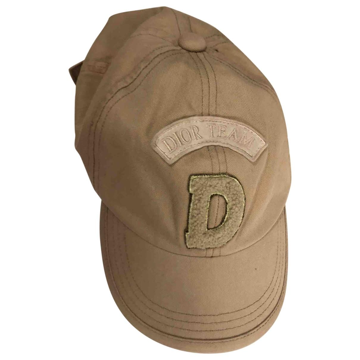 Dior \N Khaki Cotton hat & Gloves for Kids \N