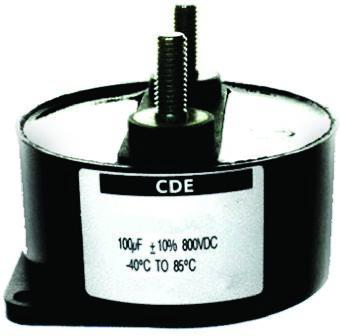 Cornell-Dubilier 70μF Polypropylene Capacitor PP 1.4kV dc ±10% Tolerance Stud Mount 944U Series