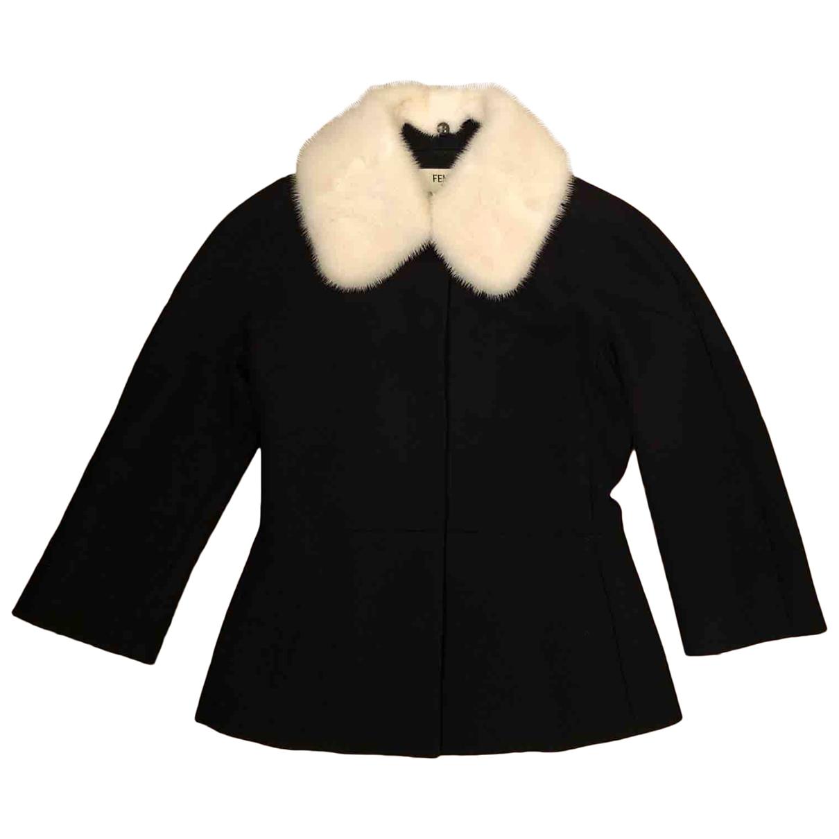 Fendi \N Black Cotton jacket for Women 38 IT