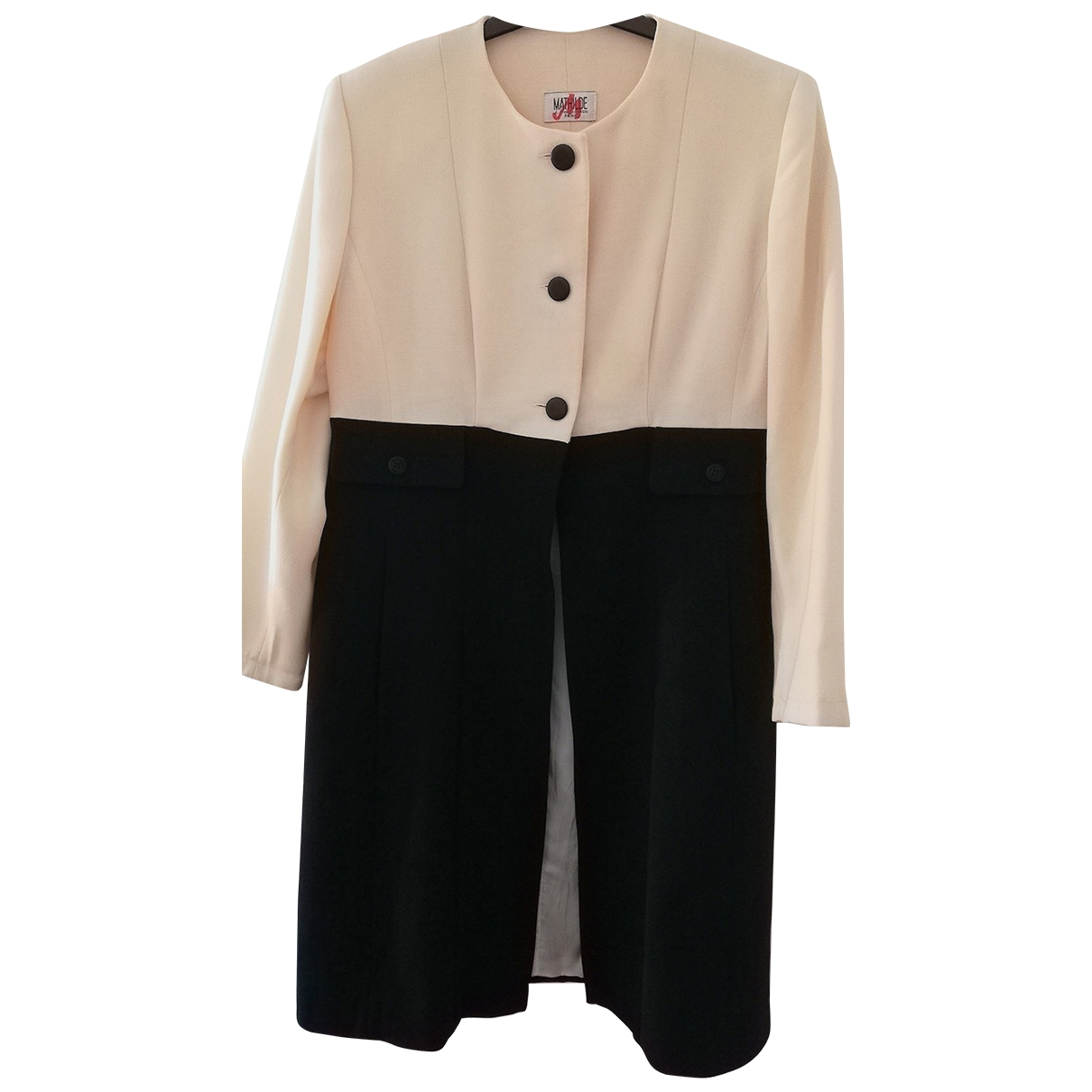 Non Signé / Unsigned \N Wool coat for Women 46 FR