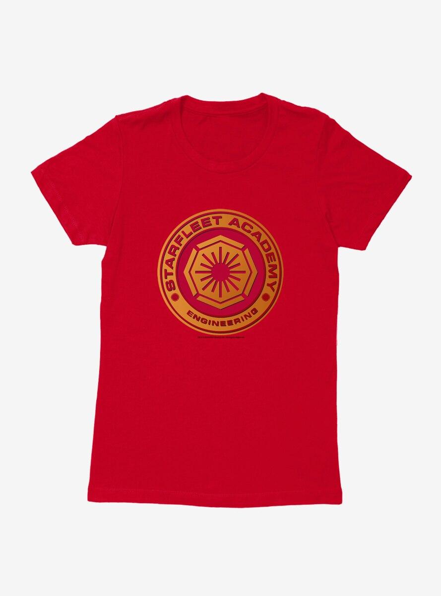 Star Trek Starfleet Academy Engineering Logo Womens T-Shirt
