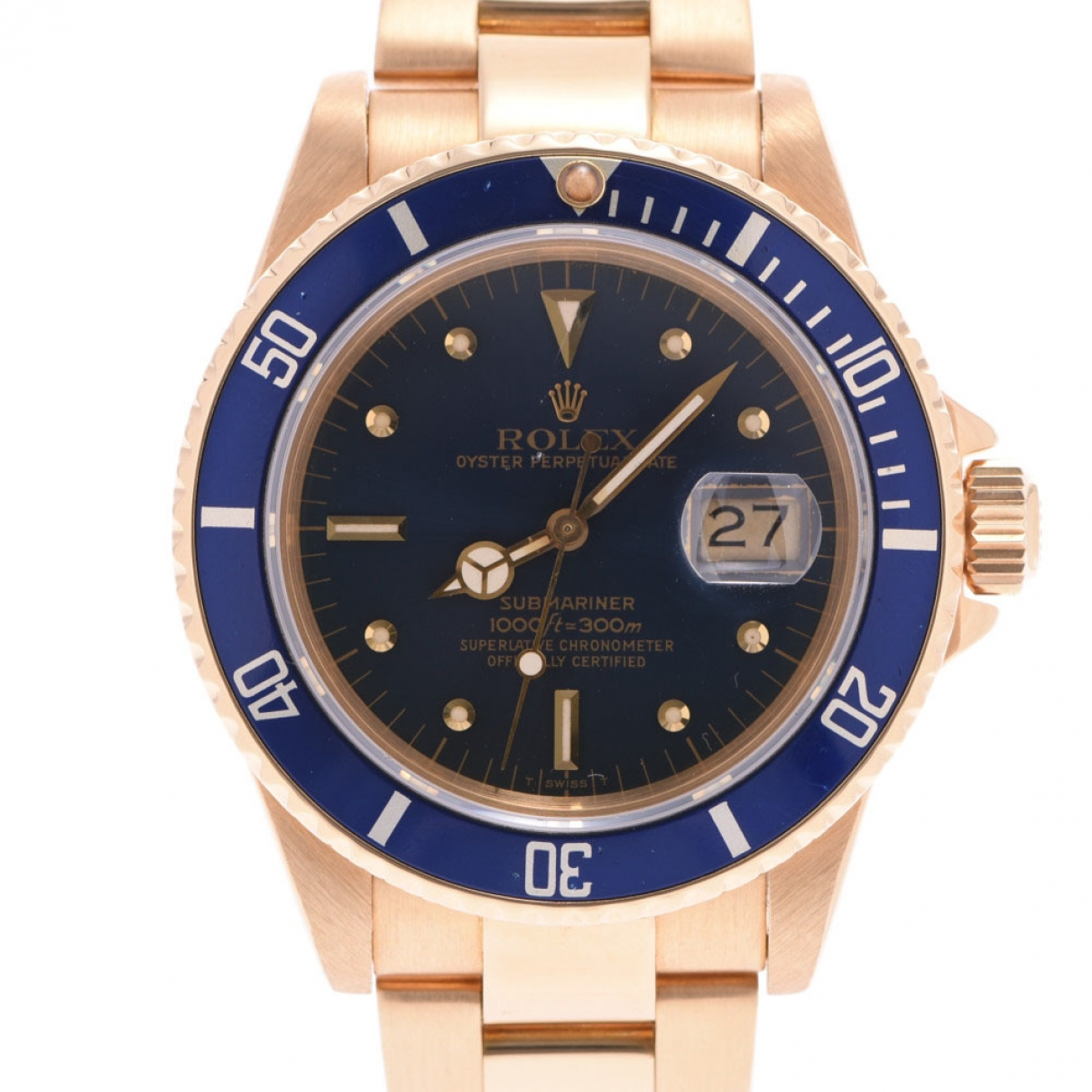 Rolex Submariner Gold Yellow gold watch for Men \N