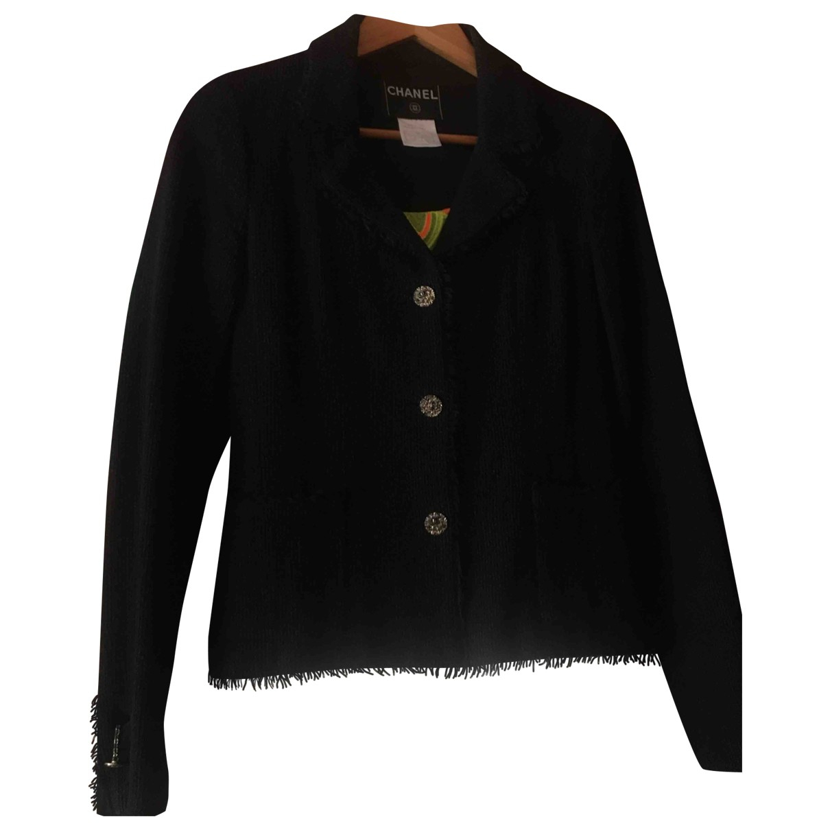 Chanel \N Black Wool jacket for Women 36 FR