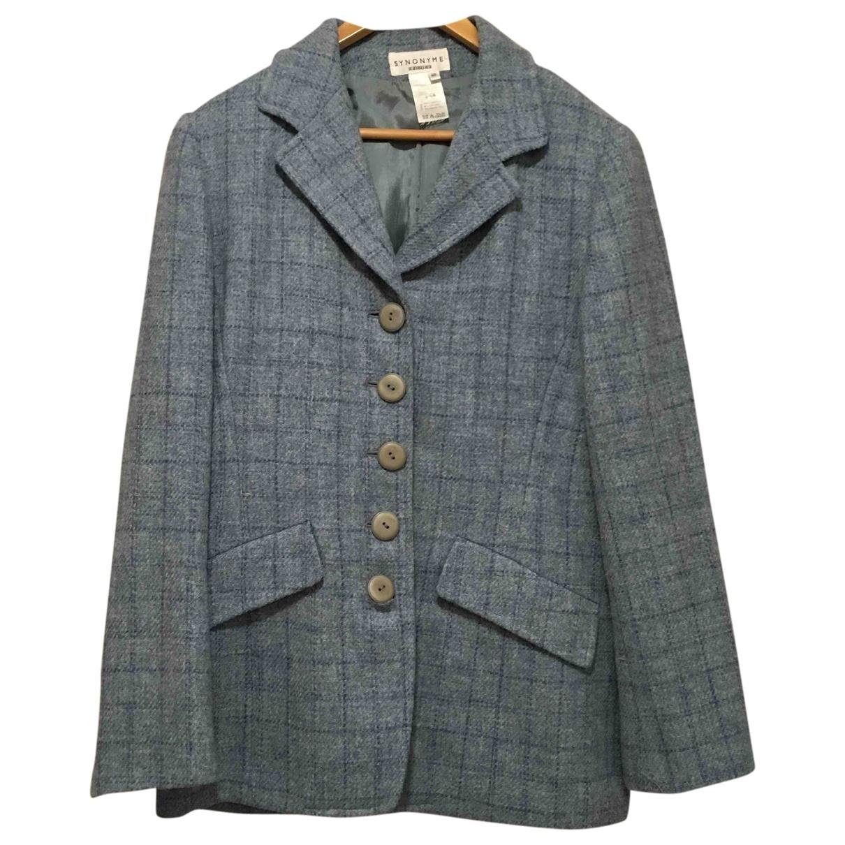 Georges Rech \N Blue Wool jacket for Women 40 FR