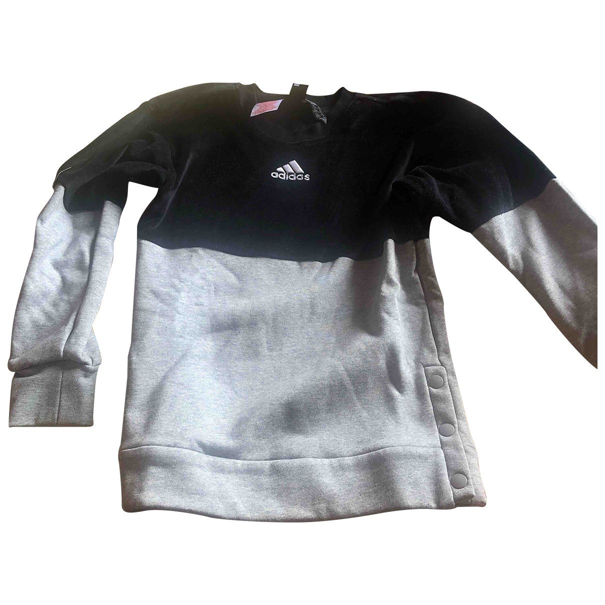 Adidas \N Grey Cotton Knitwear for Kids 8 years - up to 128cm FR
