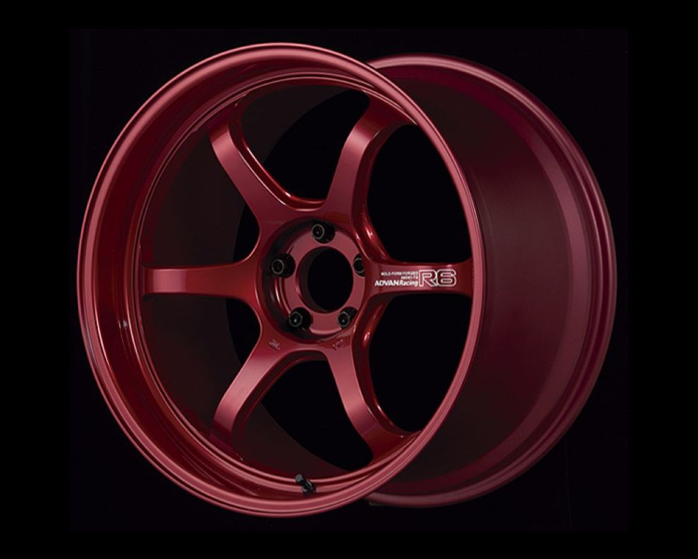 Advan R6 Wheel 20x9.5 5x114.3 29mm Racing Candy Red