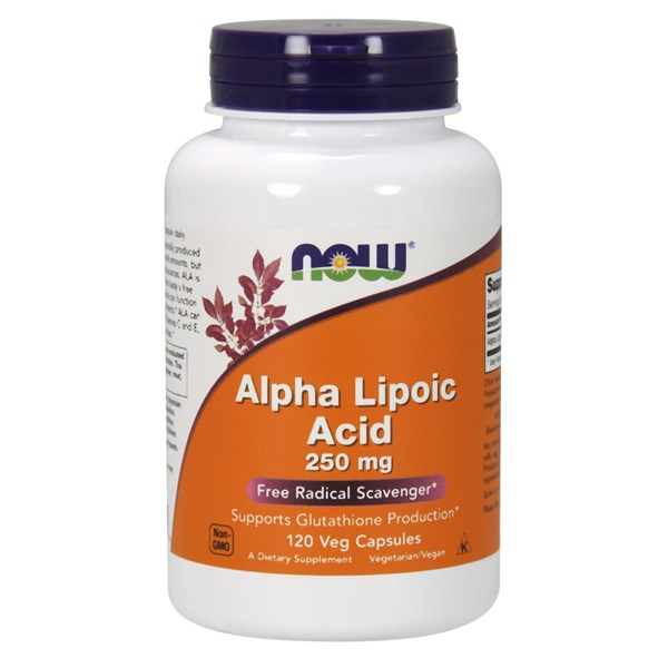 ALPHA LIPOIC ACID 120 Caps by Now Foods