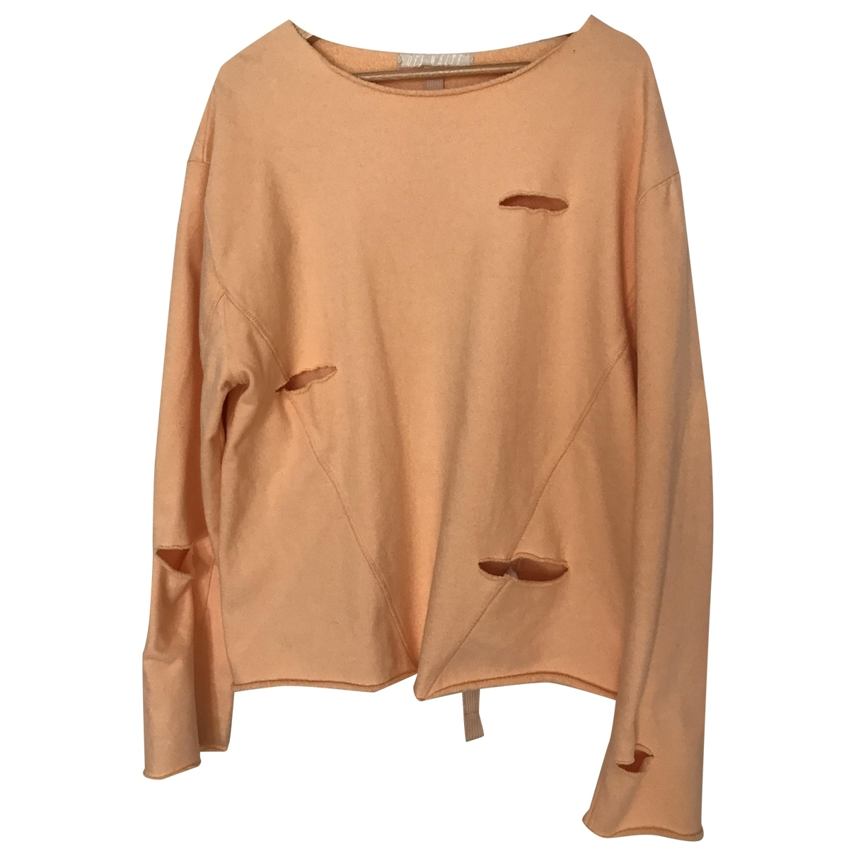 Off-white \N Pink Cotton Knitwear & Sweatshirts for Men M International
