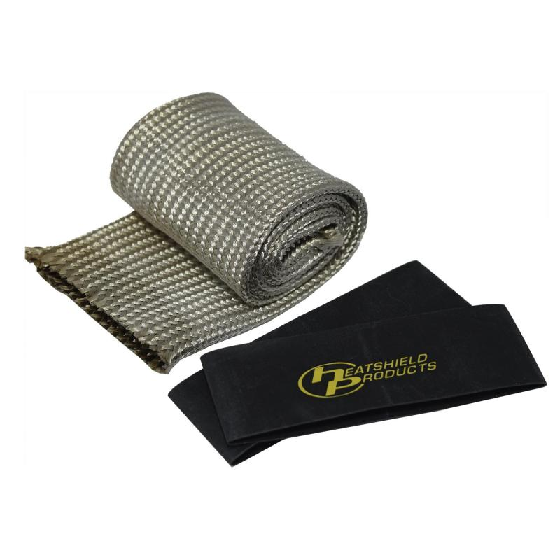 Heatshield Products Expandable ID heat shield sleeve for that reflects and dissipates heat.