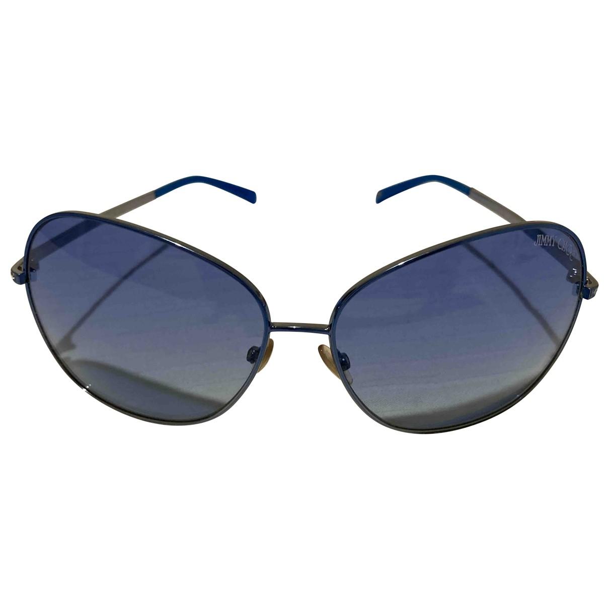 Jimmy Choo \N Blue Metal Sunglasses for Women \N