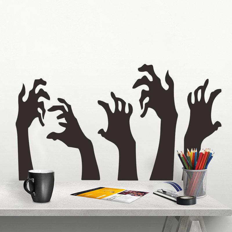 Miico Devil's Hand Halloween Sticker Wall Sticker Halloween Decoration Room Decoration