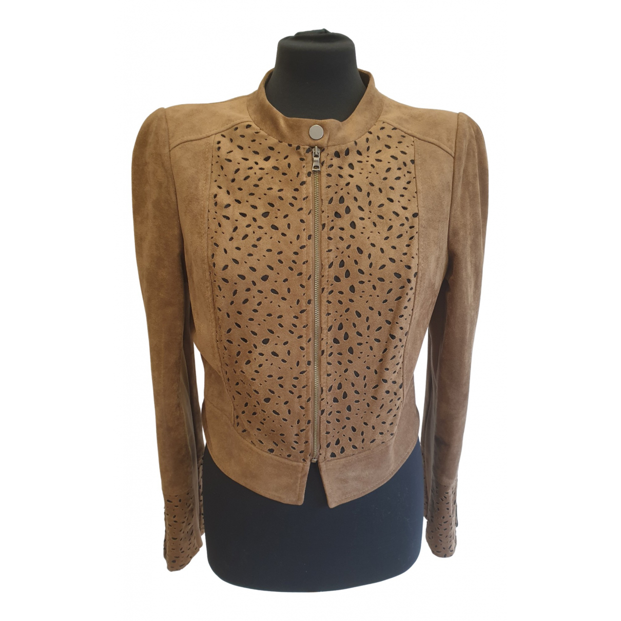 Bcbg Max Azria \N Brown jacket for Women L International