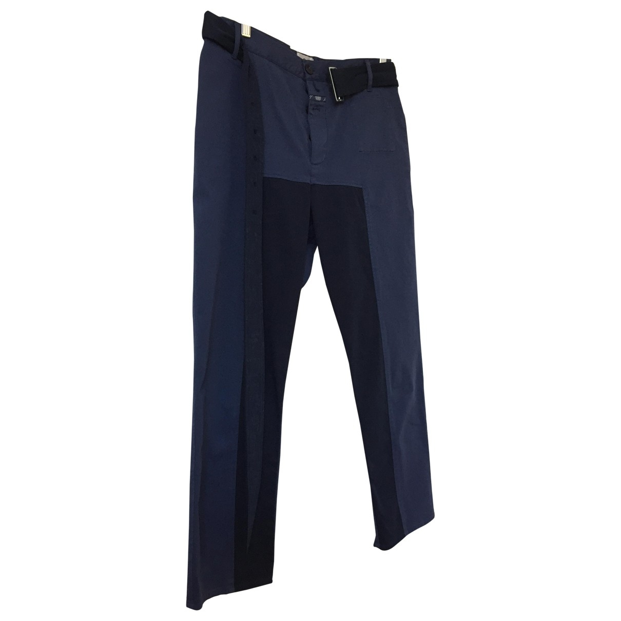 Closed \N Blue Cotton Trousers for Women M International